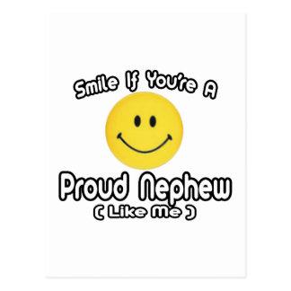 Smile If You're a Proud Nephew (Like Me) Postcard