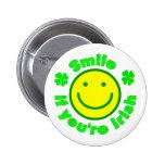 Smile if you're Irish /6 Pins