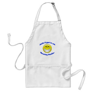 Smile if You're Not Wearing... Adult Apron