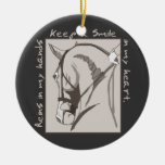 Smile In My Heart Christmas Tree Ornament