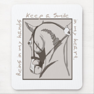 Smile In My Heart Mouse Pad