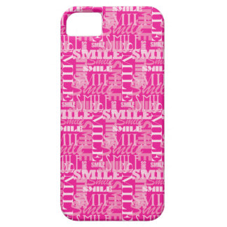 """Smile"" in pink iPhone SE/5/5s Case"