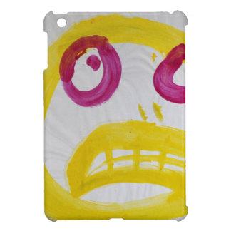 Smile In Yellow With Fushia Eyes iPad Mini Cases