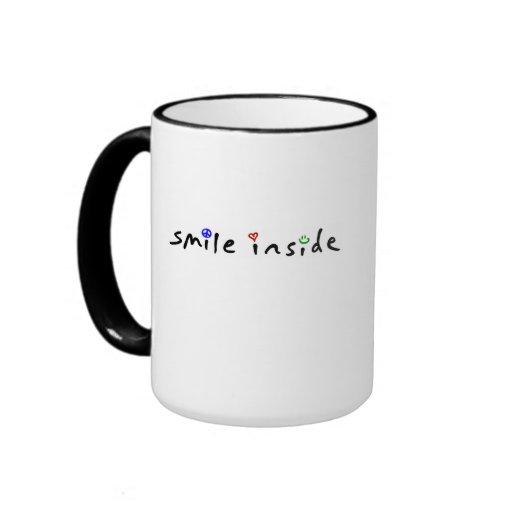 smile inside mug