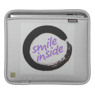 Smile inside sleeve for iPads