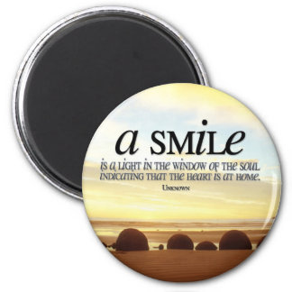 Smile Inspirational Magnet