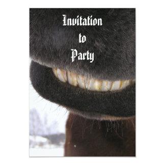Smile 5x7 Paper Invitation Card