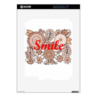 Smile iPad 2 Decals