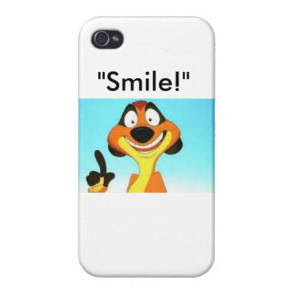 """Smile!"" iPhone 4 Covers"