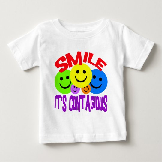 SMILE IT'S CONTAGIOUS BABY T-Shirt