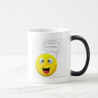 Smile... It's Contagious Magic Mug