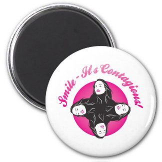 Smile-Its Contagious! Refrigerator Magnets