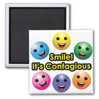 Smile! It's Contagious - Magnet