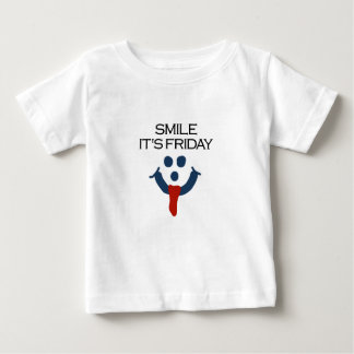 Smile It's Friday Baby T-Shirt