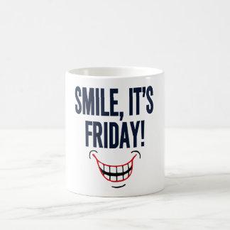 Smile, It's Friday! Coffee Mug