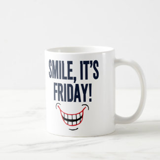 Smile, It's Friday! Coffee Mugs