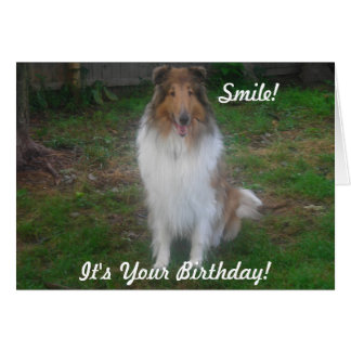 Smile!, It's Your Birthday! Card