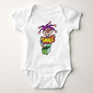 Smile ~ Jack Box Toy Word Play Baby Bodysuit