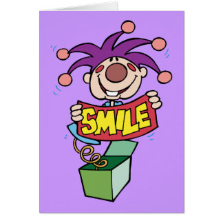 Smile ~ Jack Box Toy Word Play Card