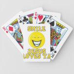 Smile Jesus Loves Ya Deck Of Cards