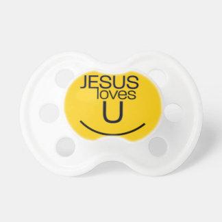 Smile...Jesus Loves You Pacifier