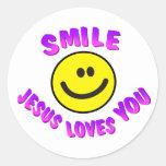 Smile, Jesus Loves You Sticker