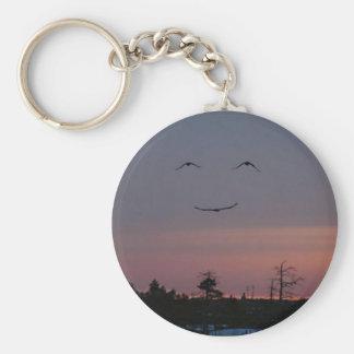 smile :) keychain