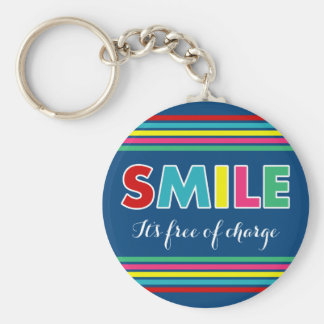 Smile! Keychain