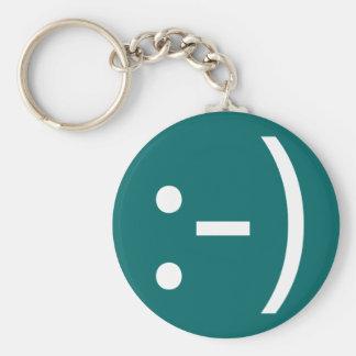Smile Keychain Dark