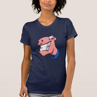 Smile Ladies Sheer V-Neck (Fitted) Shirt