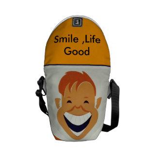 Smile life Good Bag . Cool ,Funny .