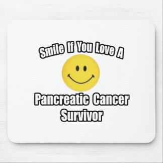 Smile...Love a Pancreatic Cancer Survivor Mouse Pad
