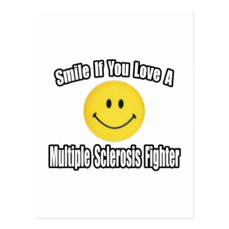 Smile...Love MS Fighter Post Card