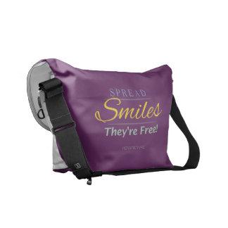 Smile! Messenger Bag