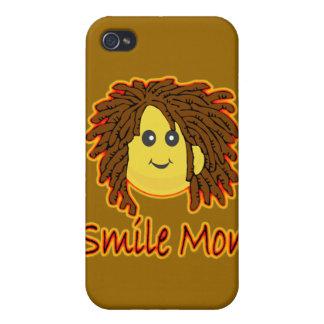 Smile Mon Fire Rasta Smiley Face iPhone 4/4S Cover