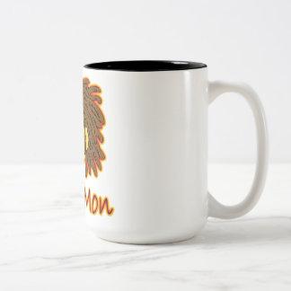 Smile Mon Fire Rasta Smiley Face Coffee Mugs