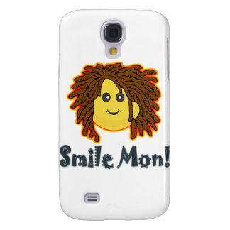 Smile Mon Rasta Smiley Face Nuts Bolts Samsung Galaxy S4 Cover