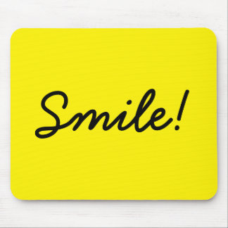 Smile! Mouse Pad