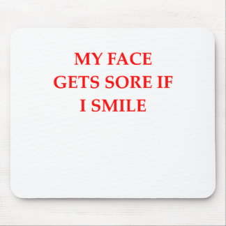 SMILE MOUSE PAD