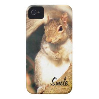 Smile Mr. Squirrel iPhone 4 Case-Mate Cases