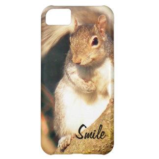 Smile Mr. Squirrel iPhone 5C Cases