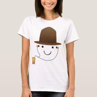 Smile Music Hat T-Shirt