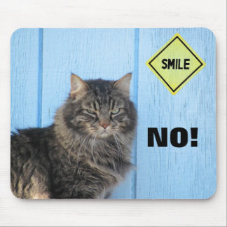 Smile? No! Mouse Pad