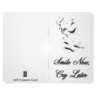 Smile Now Cry Later masks Journal