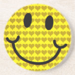 Smile of Love_ Drink Coasters