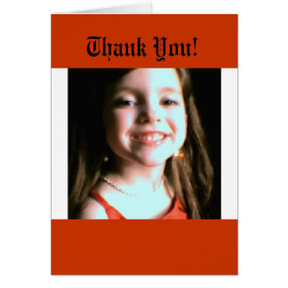 Smile of Thanks Card