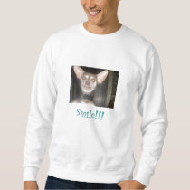 Smile!!! Or Else Sweatshirt
