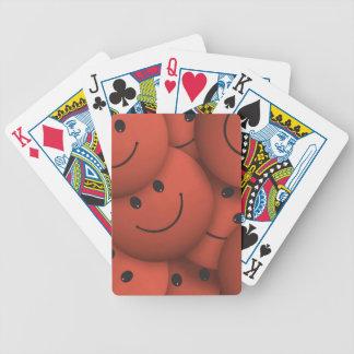 Smile,orange Deck Of Cards