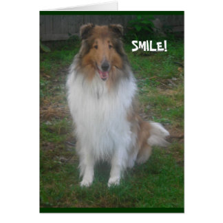 SMILE! *personalize/customize* CARD