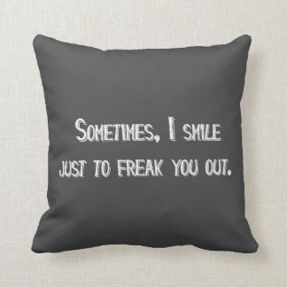 Smile Pillow - Assorted Styles & Colors